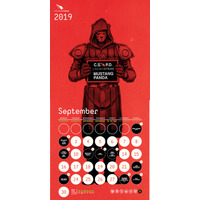 CrowdStrike Adversary Calender 2019 年 9 月 画像
