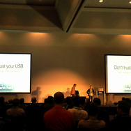 「DON'T TRUST YOUR USB! HOW TO FIND BUGS IN USB DEVICE DRIVERS」講演
